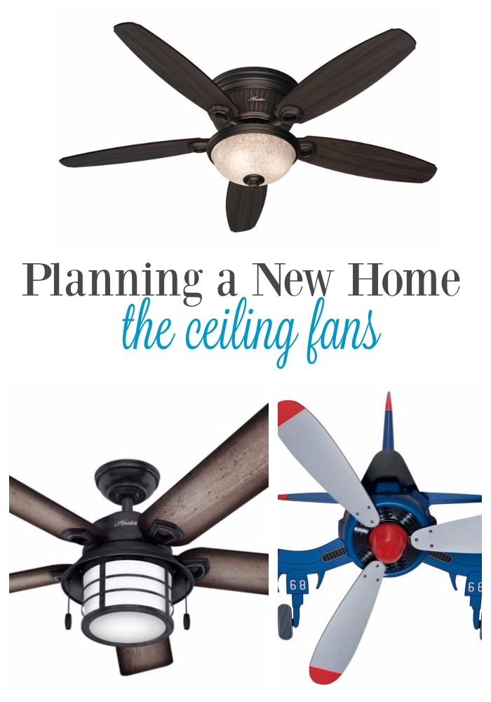 Planning a New Home: Hunter Fans