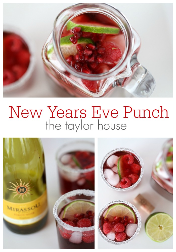 Delicious New Years Eve Punch