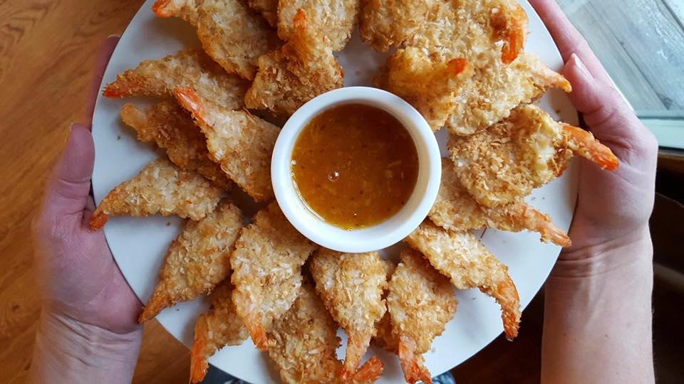 Shrimp Holiday Entertaining Plate!