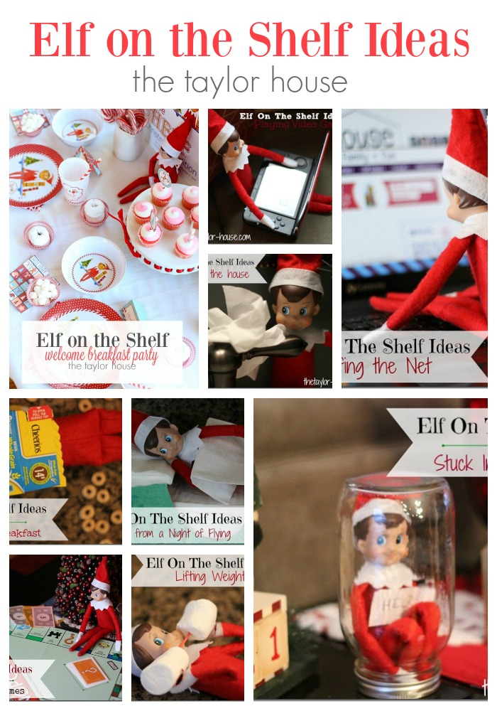 Ideas for your Elf on the Shelf!