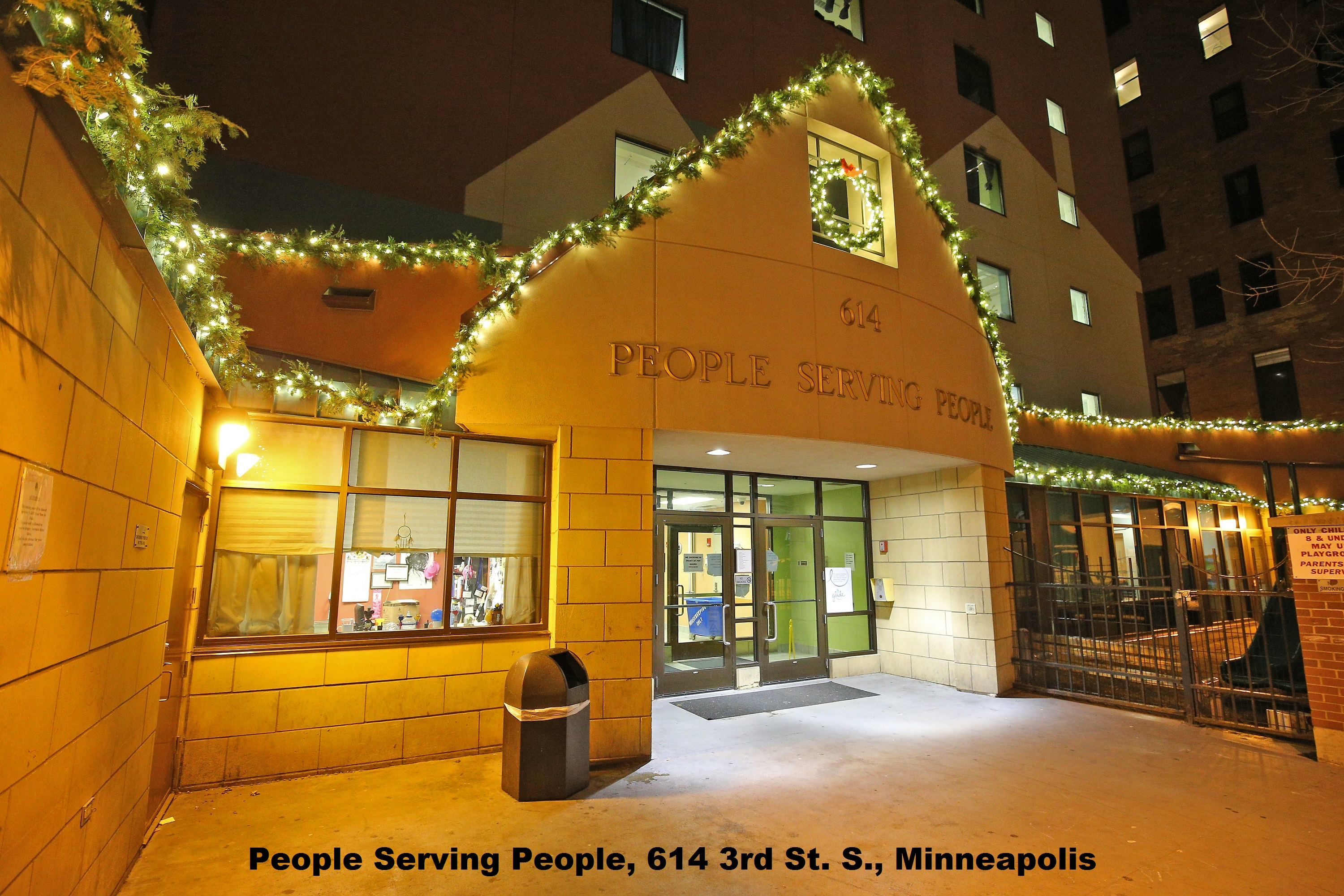MINNEAPOLIS, MN - NOVEMBER 24: Glade® decorated the People Serving People shelter in Minneapolis, Minnesota on Tuesday, November 24, 2015 to help deliver holiday cheer and provide a bright and joyous destination for families to visit this holiday season. (Photo by Adam Bettcher/Getty Images for SC Johnson)