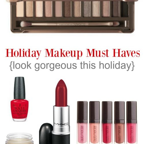 Holiday MakeUp Must Haves
