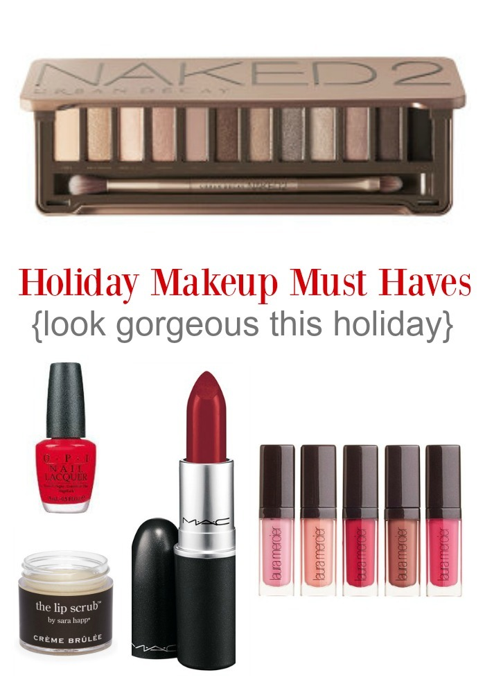 Holiday Makeup Must Haves!
