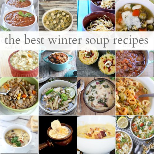 Over 20 Warm and Comfy Winter Soup Recipes