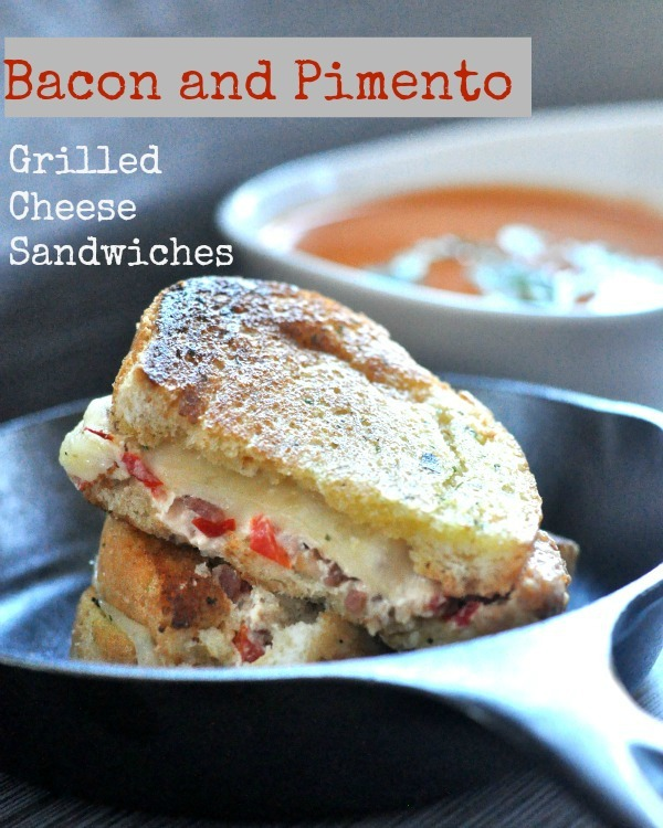 Bacon and Pimento Grilled Cheese Sandwiches Gourmet