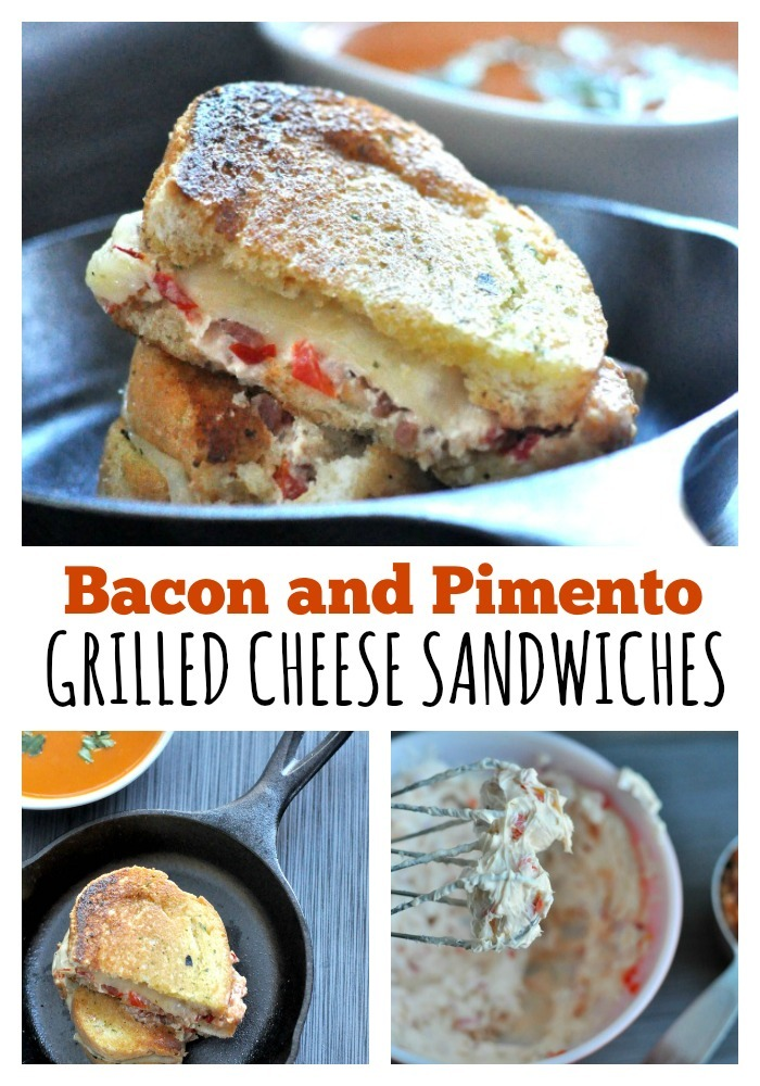Bacon and Pimento Grilled Cheese Sandwiches Simple