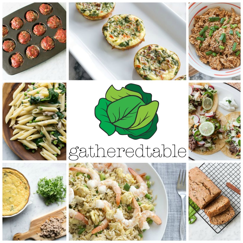 Muffin Tin Meat Loaf and Gatheredtable Meal Planning