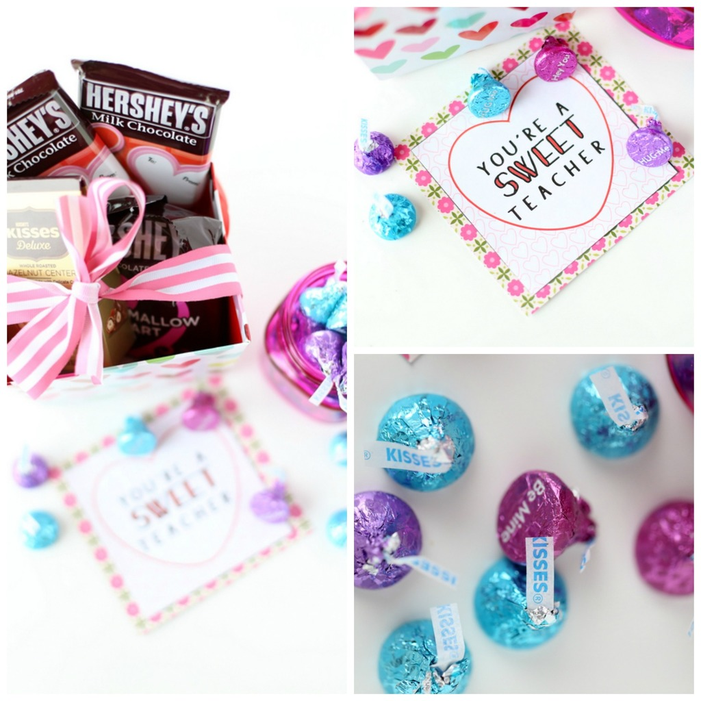 Sweet Valentine's Day Teacher Gift Idea