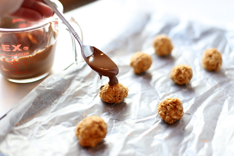 Delicious and Healthy Salted Sunbutter Truffles!