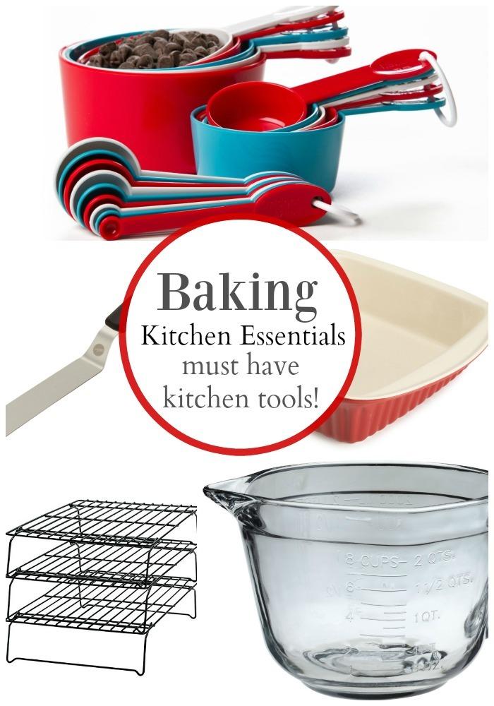 My MUST have Kitchen Essentials: Baking Kitchen Tools!