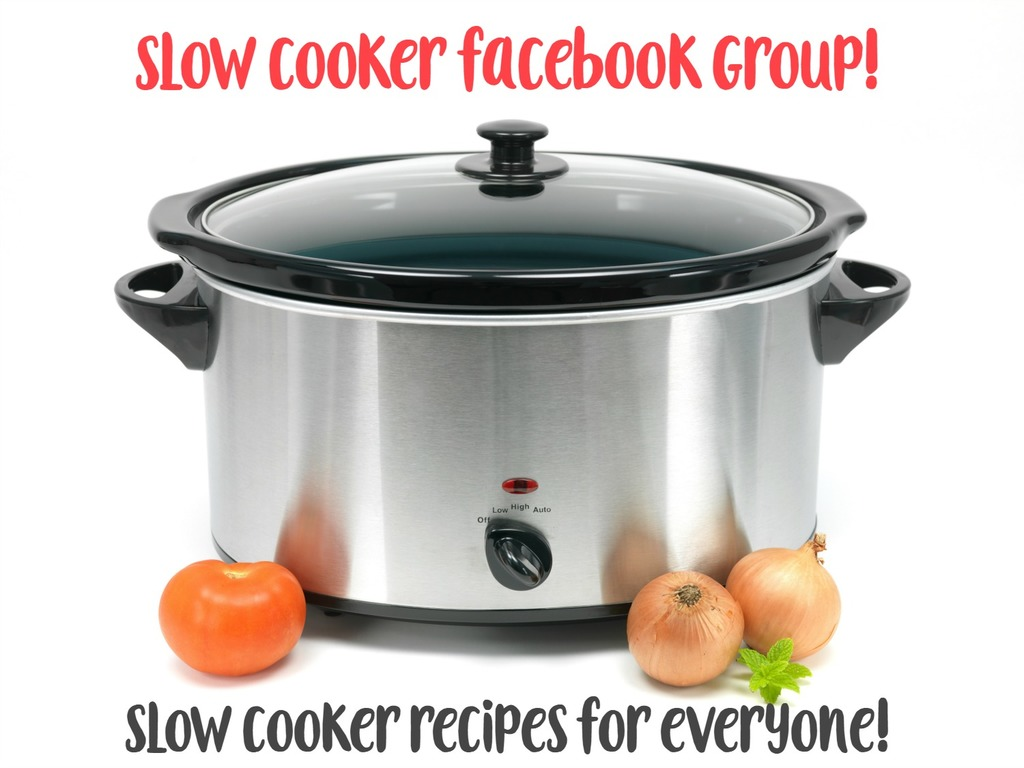 Slow Cooker Facebook Group - everything slow cooker all the time!