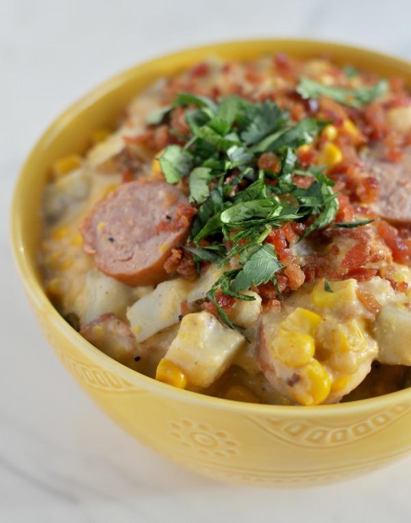Corn Chowder Potatoes