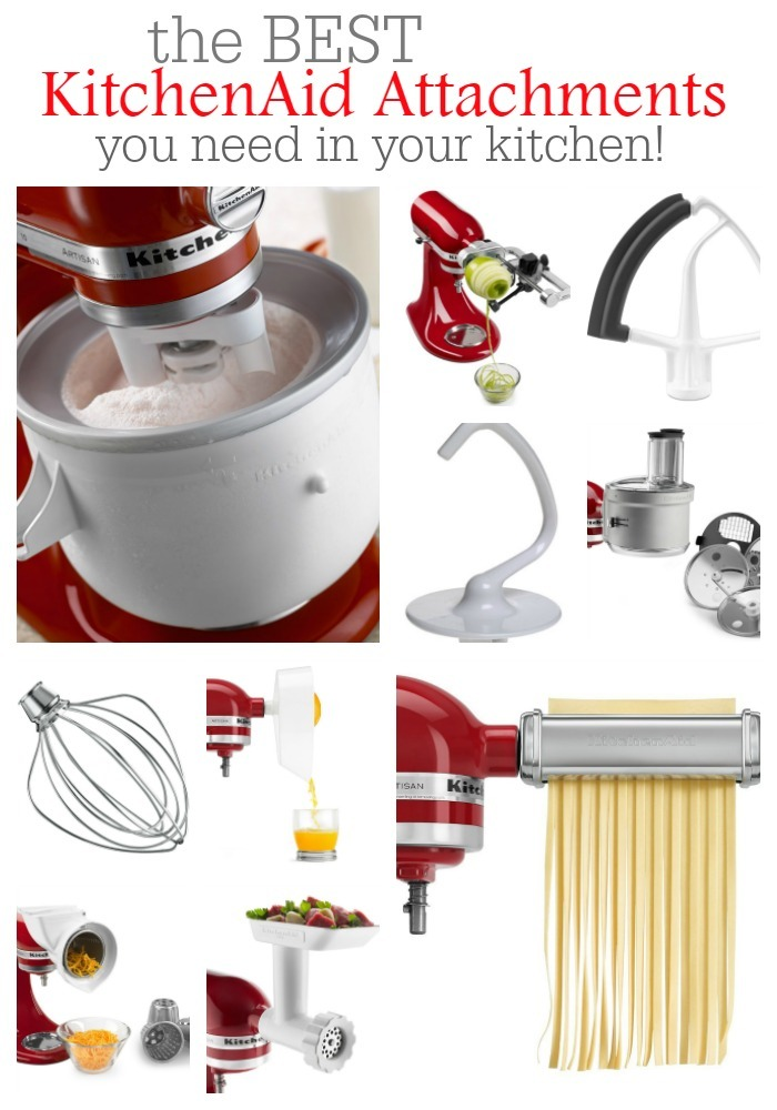 The Best KitchenAid Attachments For Your Kitchen | The ...
