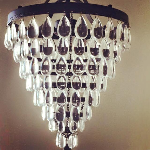 Master Bathroom Chandelier