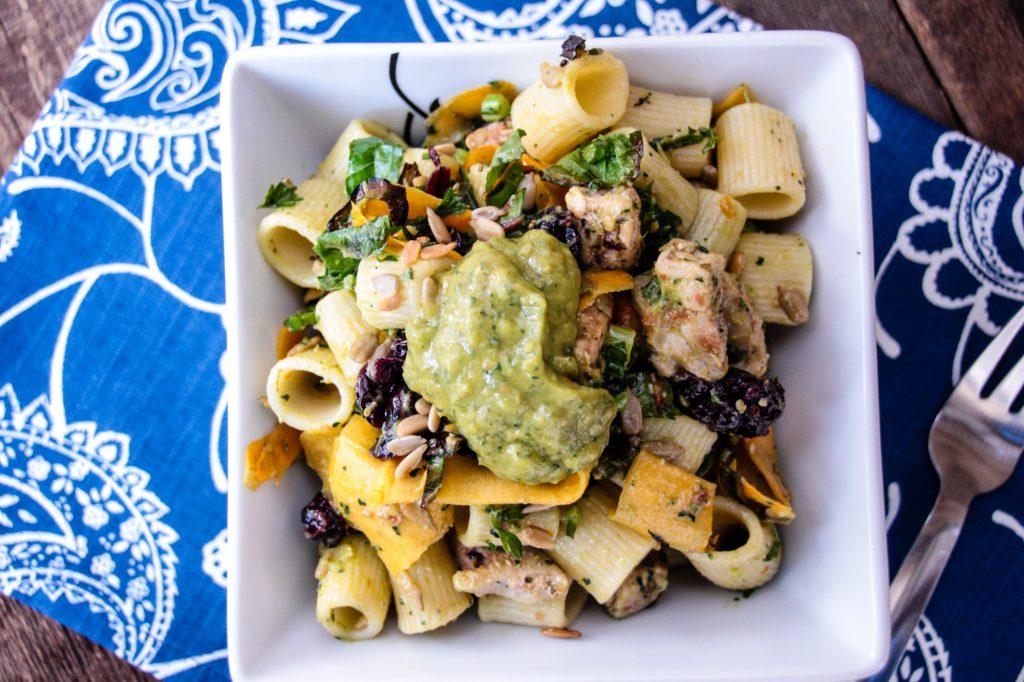 Rigatoni Pasta Salad-10