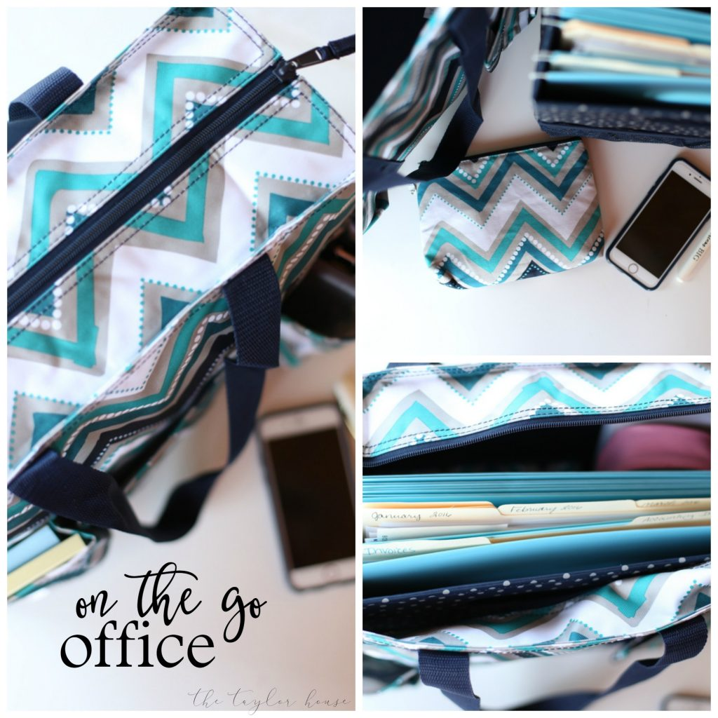 On The Go Office - for everyone that needs to have an office that's easy to transport!