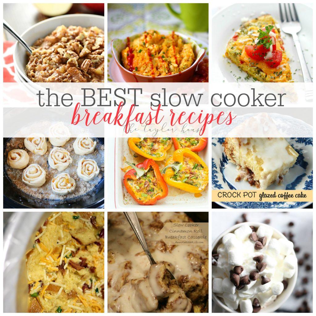 Slow Cooker Breakfast Recipes: The Best Slow Cooker Breakfast Recipes