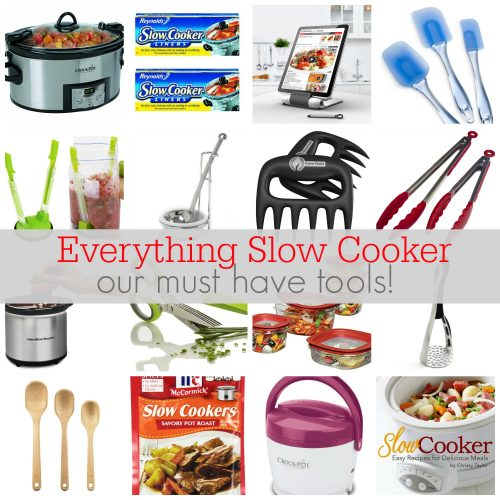 Everything Slow Cooker: Slow Cooker Tools