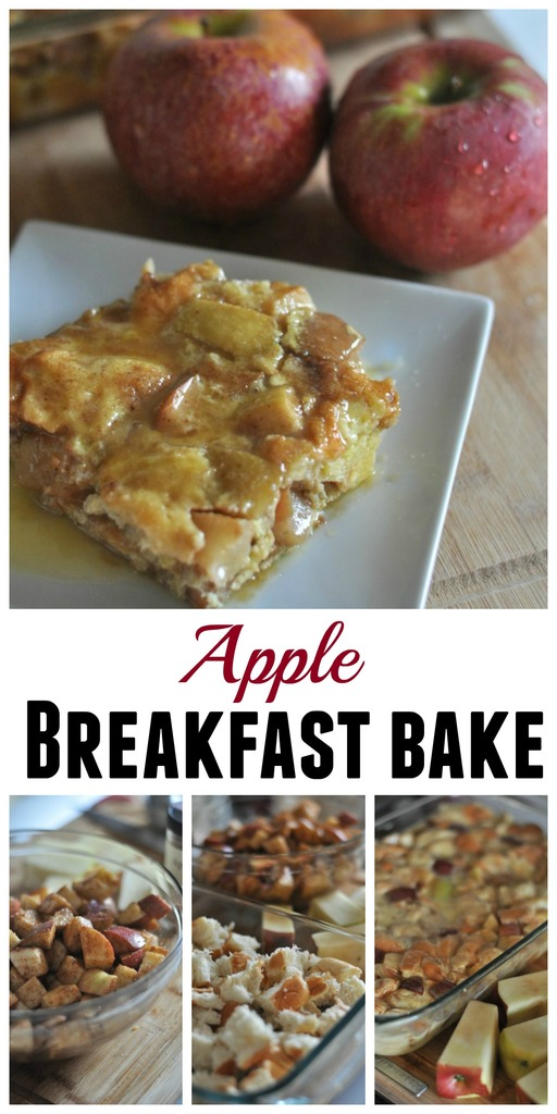 This simple Apple Breakfast Bake recipe is easy to assemble and a delicious breakfast meal you can enjoy all year with your family.