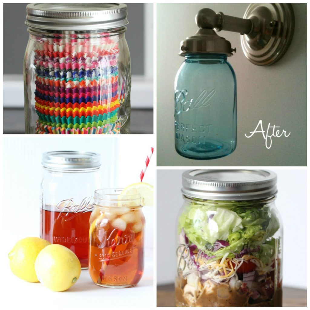 15 Genius Ways to Use Mason Jars!