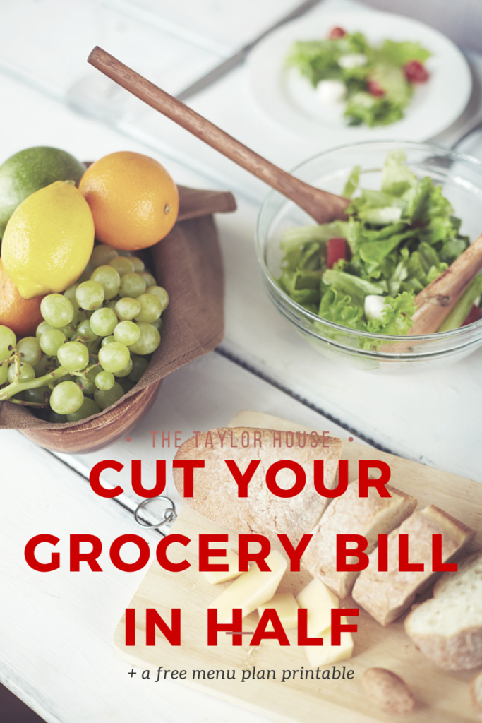 Tons of Tips on How to Cut Your Grocery Bill in Half while still feeding your family delicious meals!