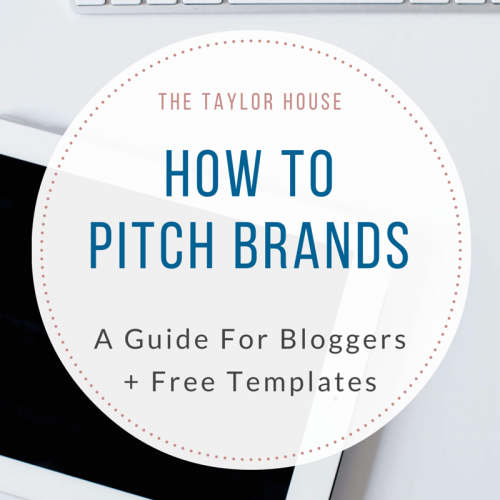 How To Pitch Brands: A Bloggers Guide