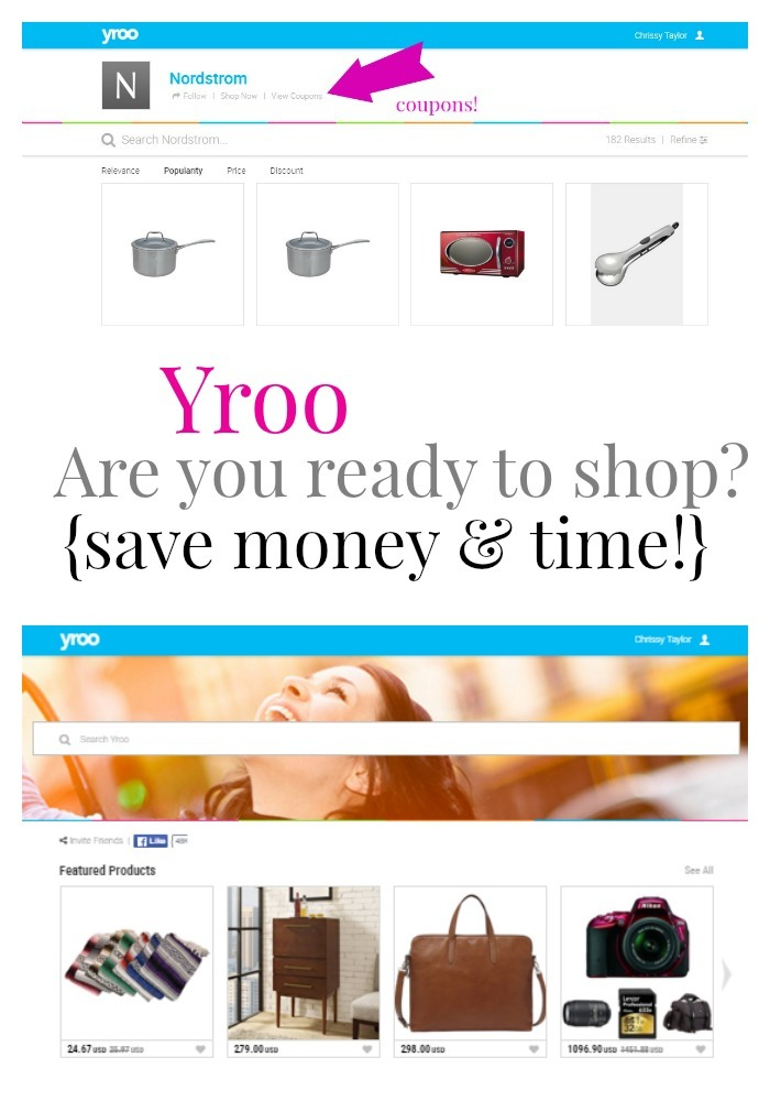 Save Time and Money with Online shopping and Yroo!