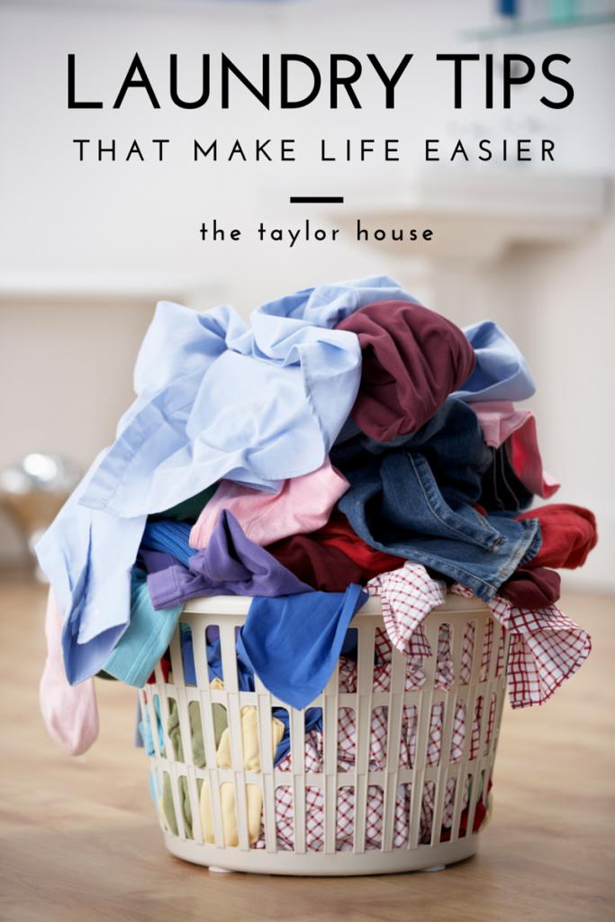 Laundry Tips that Make Life Easier
