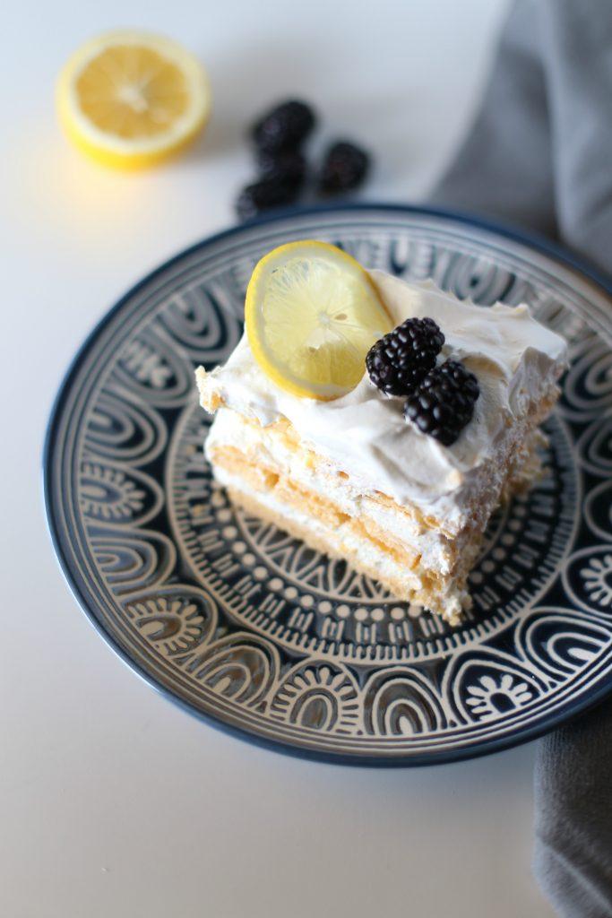 Lemon Icebox Cake using Vanilla Wafers!