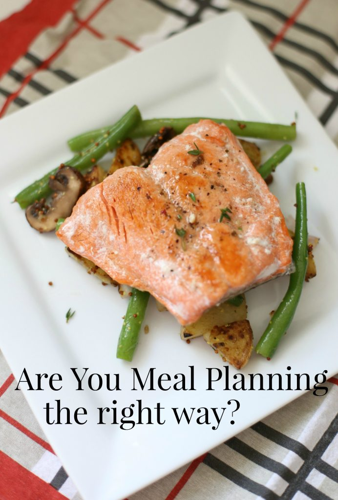 Are You Meal Planning the Right Way?