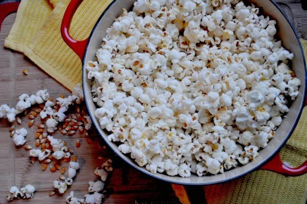 Stovetop Truffle Popcorn Easy Recipe