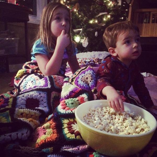 Truffle Popcorn Movie Night
