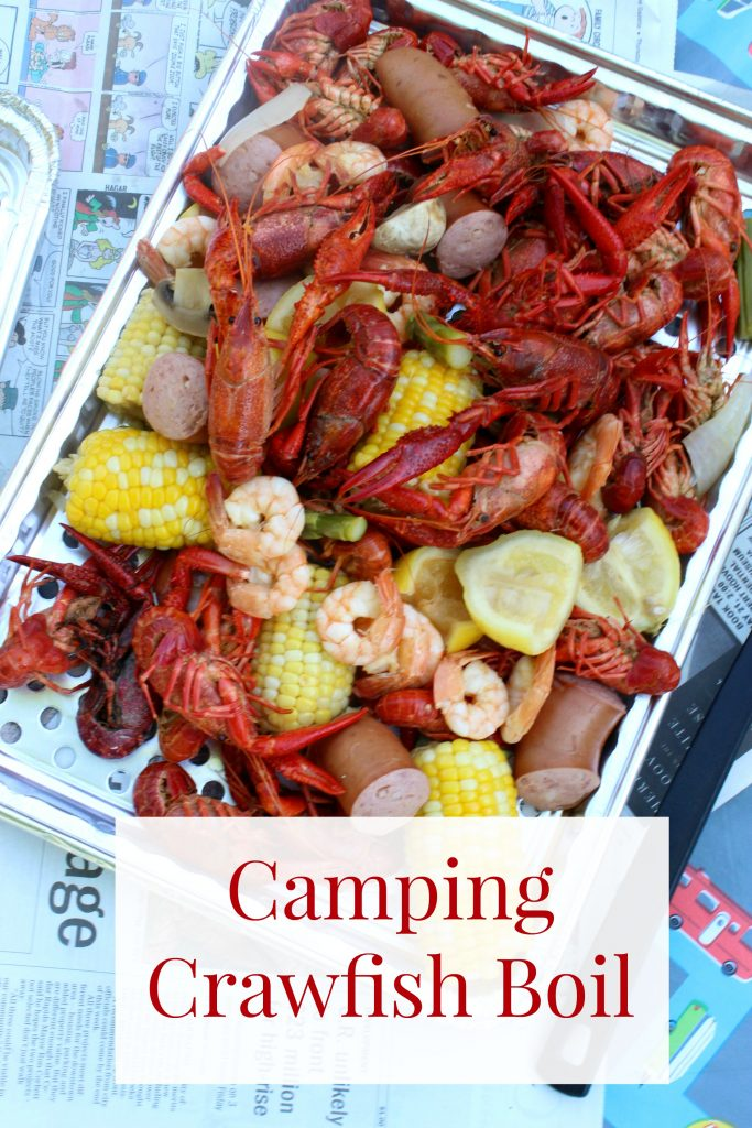 Camping Crawfish Boil