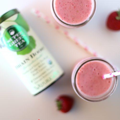 Strawberry Green Tea Smoothie