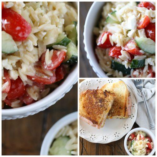 Italian Orzo Pasta Salad
