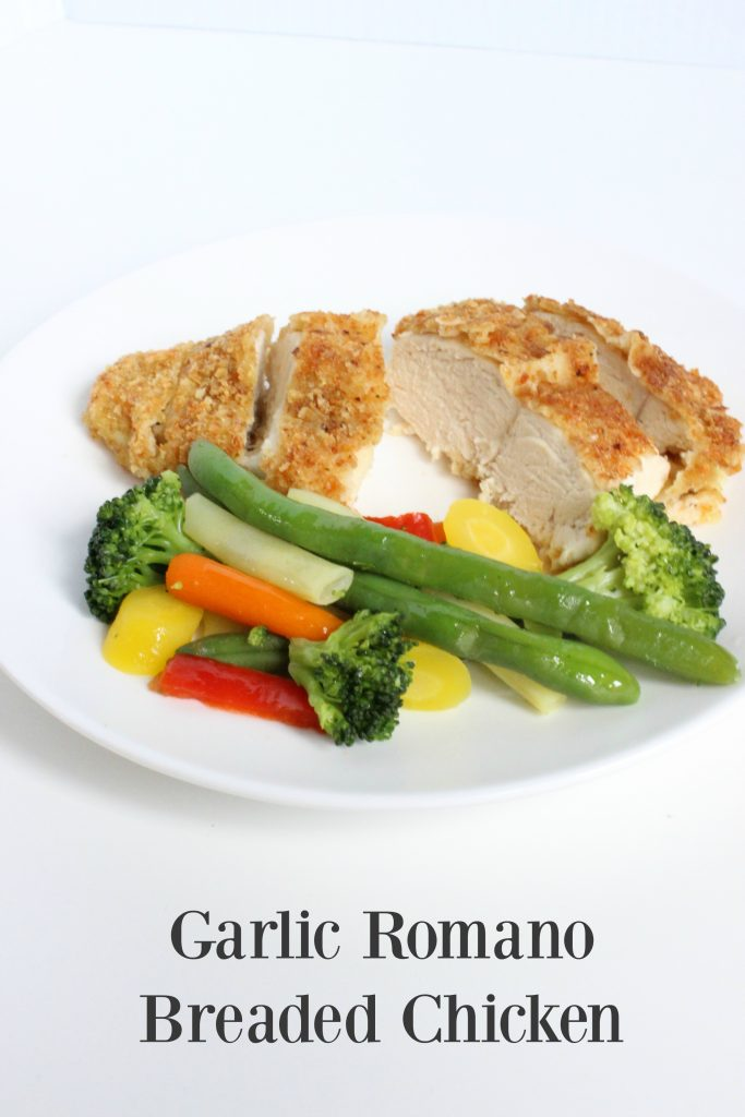 Garlic Romano Breaded Chicken w/ John WM Macy's CheeseSticks