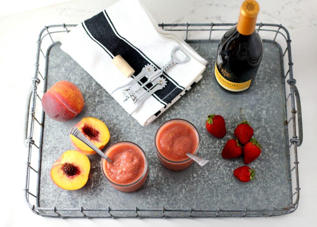 Red Wine Sangria Slush Recipe