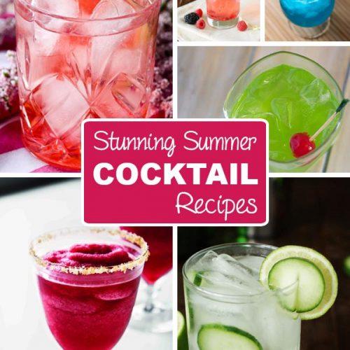 Stunning Summer Cocktail Recipes