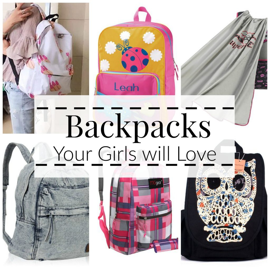 10 of the coolest backpacks for girls!