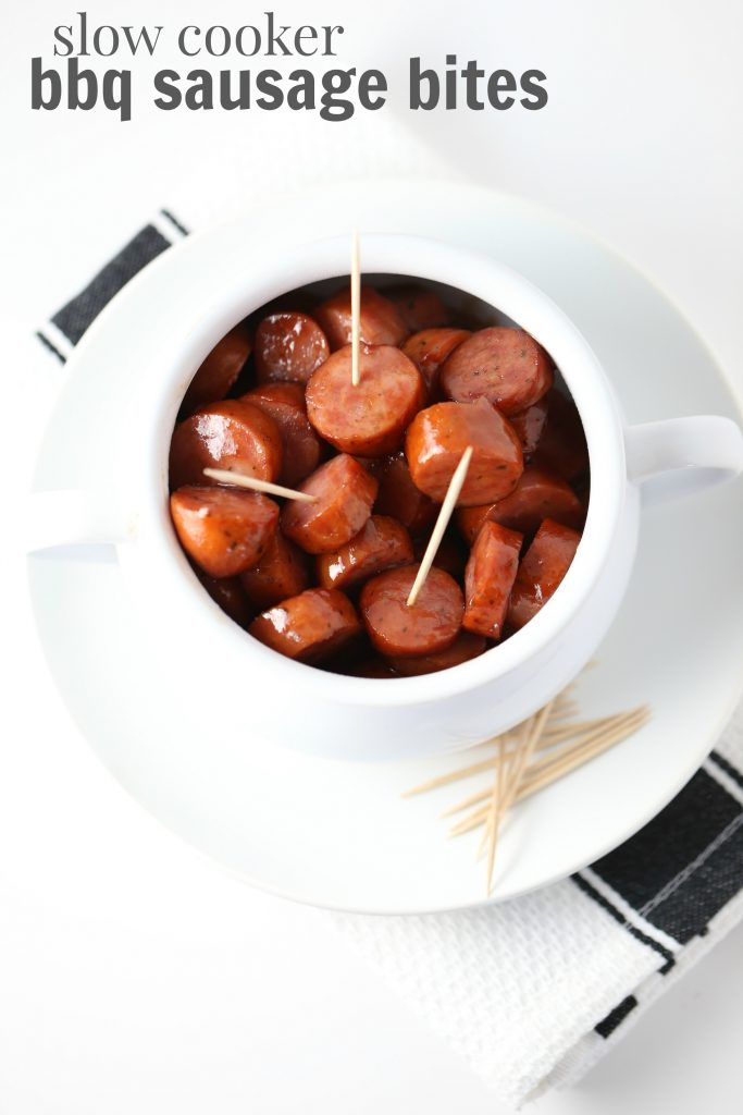 Slow Cooker BBQ Sausage Bites