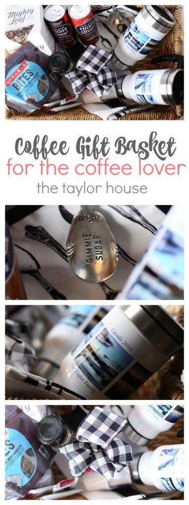 Coffee Lovers Gift Basket #CVSPhotoMyWay