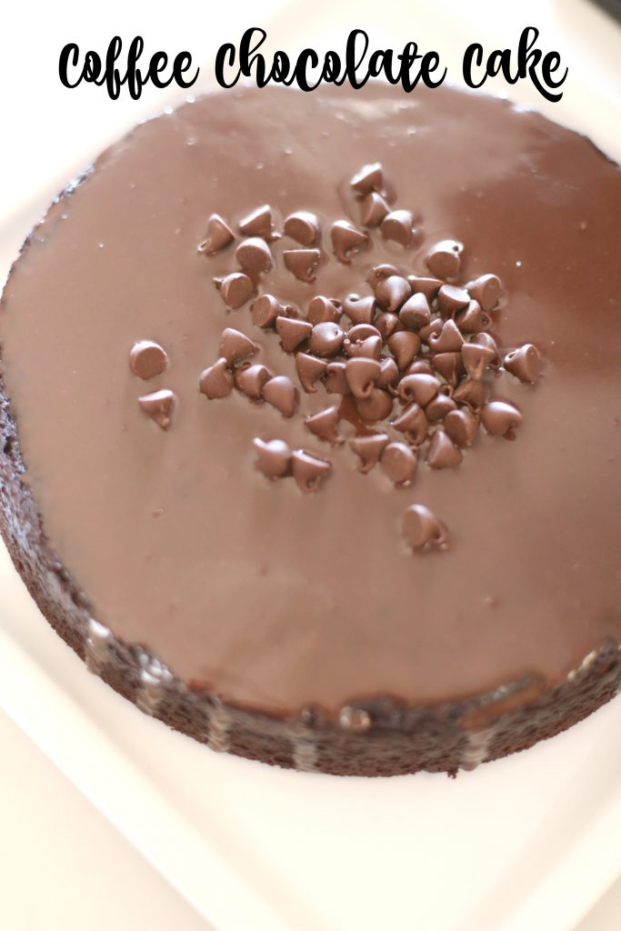 Coffee Chocolate Cake With Ganache Frosting The Taylor House