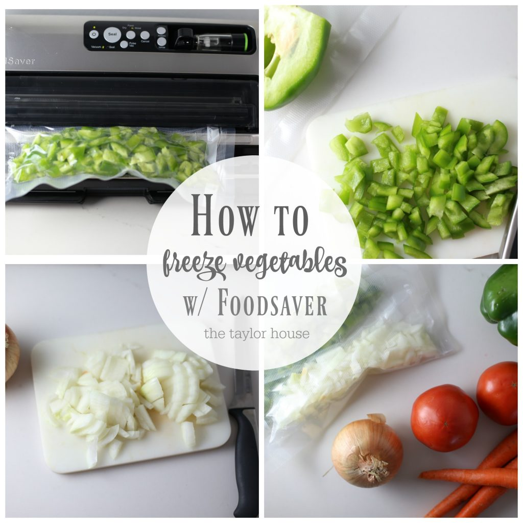 How To Freeze Vegetables