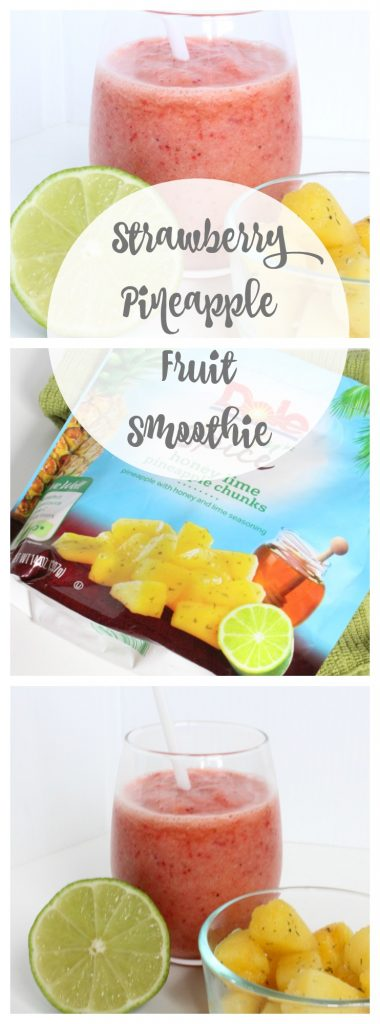 Dole Fruit n' Spice Strawberry Pineapple Smoothie