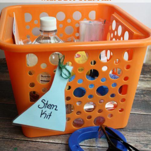 Encouraging STEM at Home – DIY STEM Kit