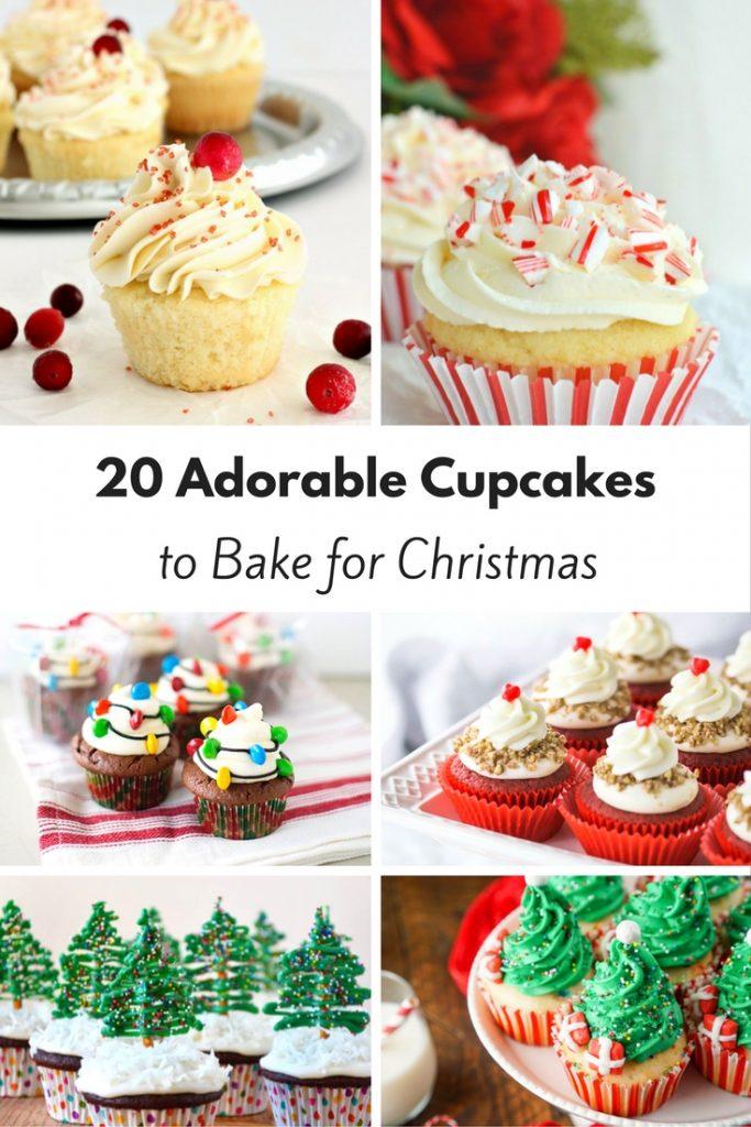 20 Adorable Christmas Cupcakes