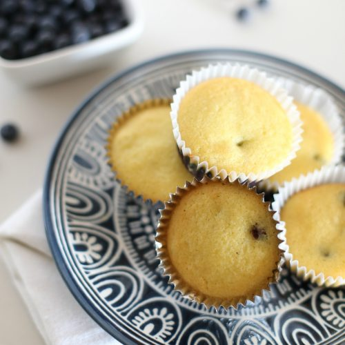 Coconut Flour Blueberry Muffins and Fair Trade Giveaway