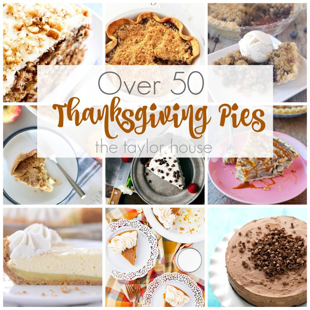 Over 50 Delicious Thanksgiving Pie Recipes