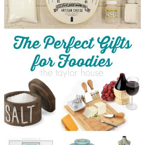 The Perfect Gifts for Foodies