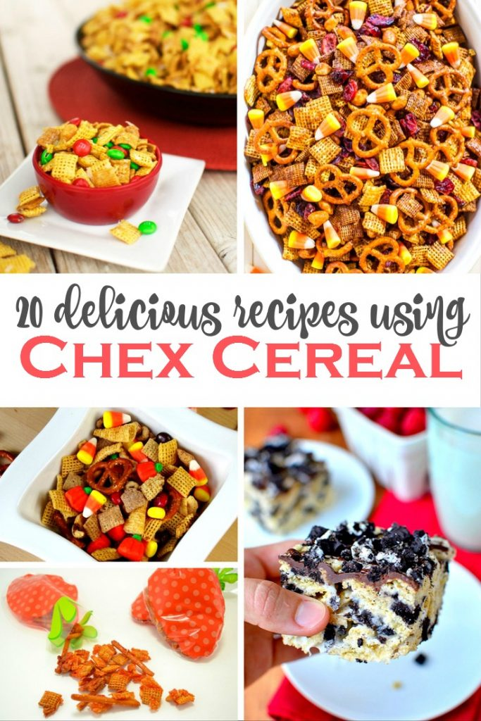 20 Yummy Recipes Using Chex Cereal The Taylor House